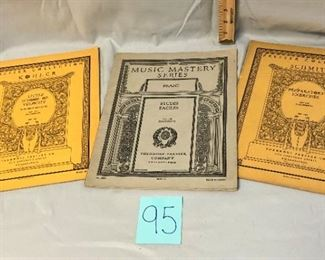 Lot 95 Sheet Music Books for the Pianoforte