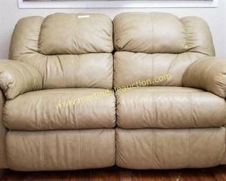 Ashley furniture leather loveseat