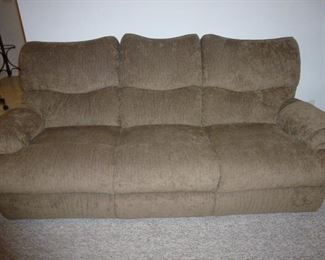 Sofa with Recliner on Each End