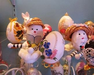 OUR SELECTION OF HAND CRAFTED EGGS WILL AMAZE,