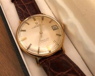 Vintage Gold Tiffany Watch by Universal Watch Co.