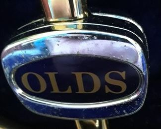 Trombone, vintage Olds in case