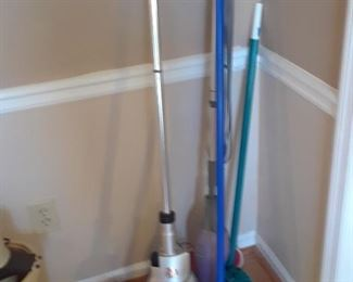 Vacuums and brooms