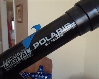 Polaris digital telescope by Meade