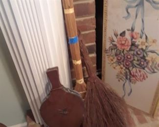 Brooms and bellows