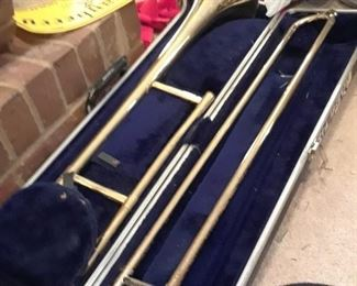 Olds Trombone in case, A49467, vintage