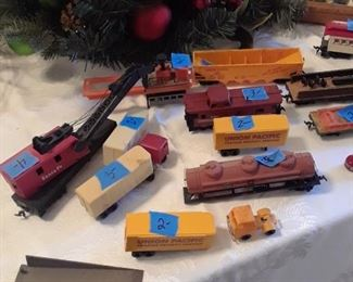 More toy trains