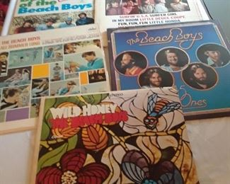 Lots of Beach Boys LPs