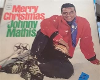 Johnny Mathis, Merry Christmas, LP