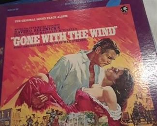 Gone with the Wind LP soundtrack