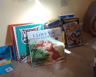 Books and dvds, disney