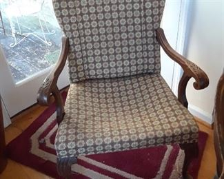 Arm chair, vintage
