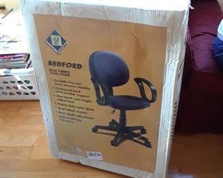Bedford office chair, new in box