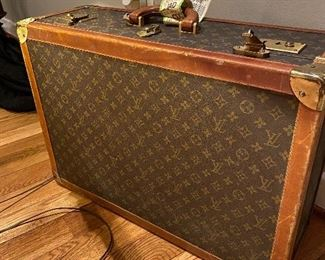 Vintage Louis Vuitton overnight bag