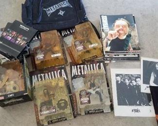 Metallica collectibles