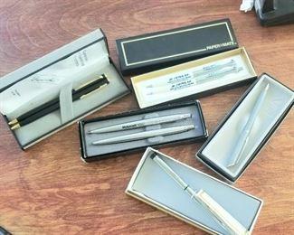 Vintage pen sets
