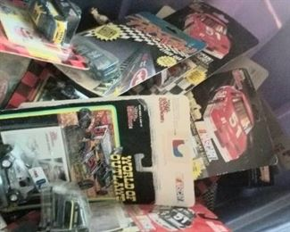 A bucket of die cast cars, sold individually