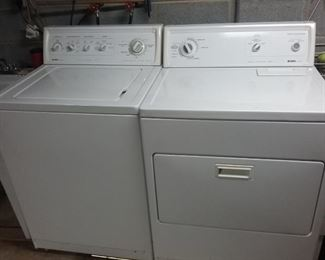 BEAUTIFUL CLEAN WASHER & DRYER