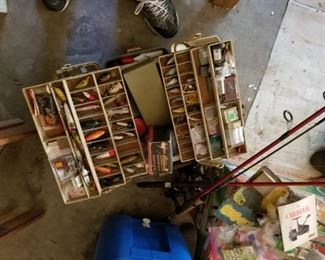 Fishing Tackle, Rods, Reels