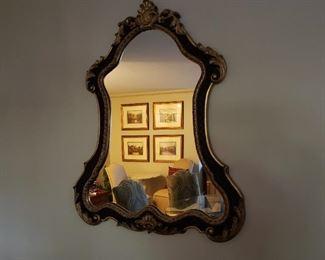 Italian Rococo Mirror by Ethan Allen