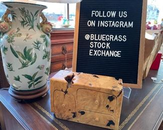 Follow us on Instagram!  @BluegrassStockExchange