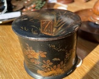 Chinoiserie Powder Box, $35