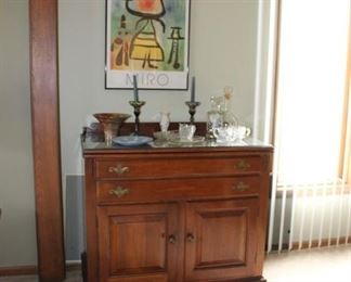 Buffet, Art, Glassware