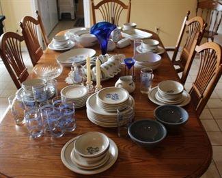 Pfaltzgraff Dishes, Glasses & Vases