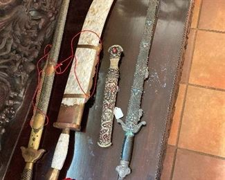 Antique swords