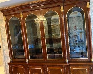 John Widdicomb neo classical China cabinet the Russian collection original cost $20,900 Asking price 10,000 or offer call 248 672 6663 to make an offer or to set up an Apoitment to view this item