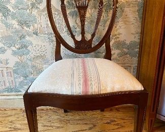 Set of 12 John Widdecombe dining chairs cost 22000 best offer call 248 672 6663