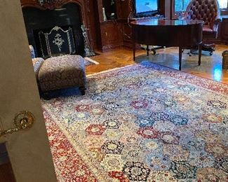 8.8 x 11.7 signed handmade wall area rug original cost 9000 Asking price 4000 or offer