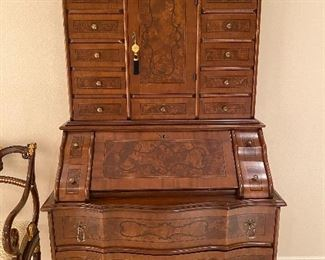 Master bedroom inlaid secretary bookcase original cost 4895 Asking price 1650 or offer