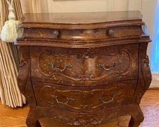 Sitting room carved wood chest of drawers Original cost 798                                 Asking price 375