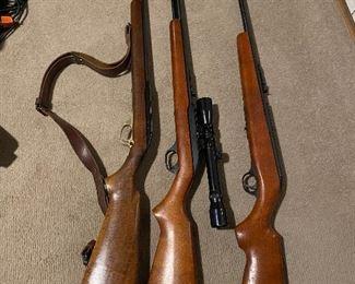 Marlin & Westerfield 22 rifles