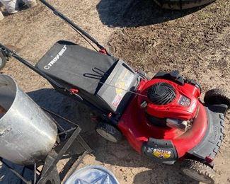 Push Lawn Mower runs good