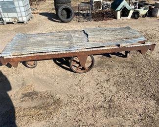Rail Road Cart