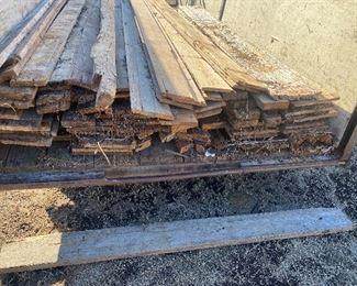 Barn Wood trailer load