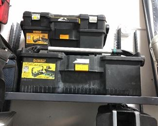 Assorted Tool Boxes