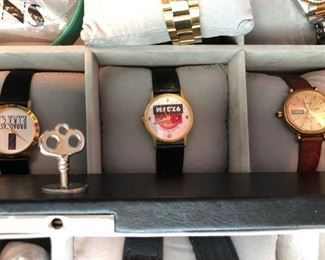 Assorted men's and some women's watches