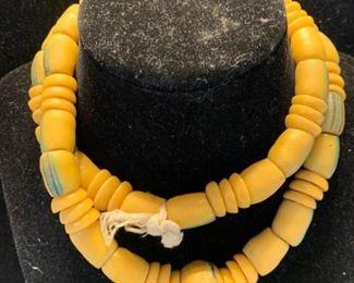 003 Ceramic Bead Necklace