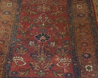 antique Hamadan Persian carpet