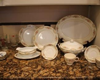 Vintage Noritake dishes assorted sold by the piece