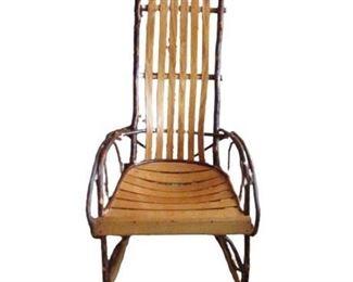Vintage Wood Rocking Chair