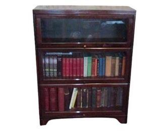 Vintage Hardwood Bookshelf