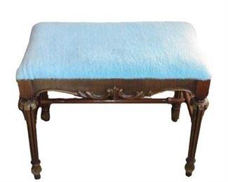 Vintage Wood Footstool