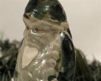 Antique Glass Figural Santa Claus Ornaments
