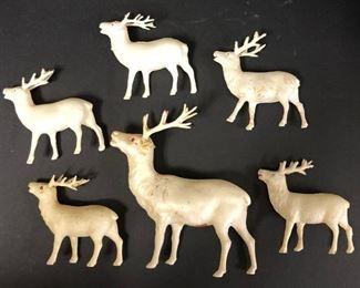 Vintage Plastic Deer