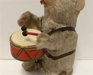 Wind Up Bear Playing Drum