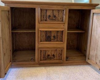 Dresser inside view